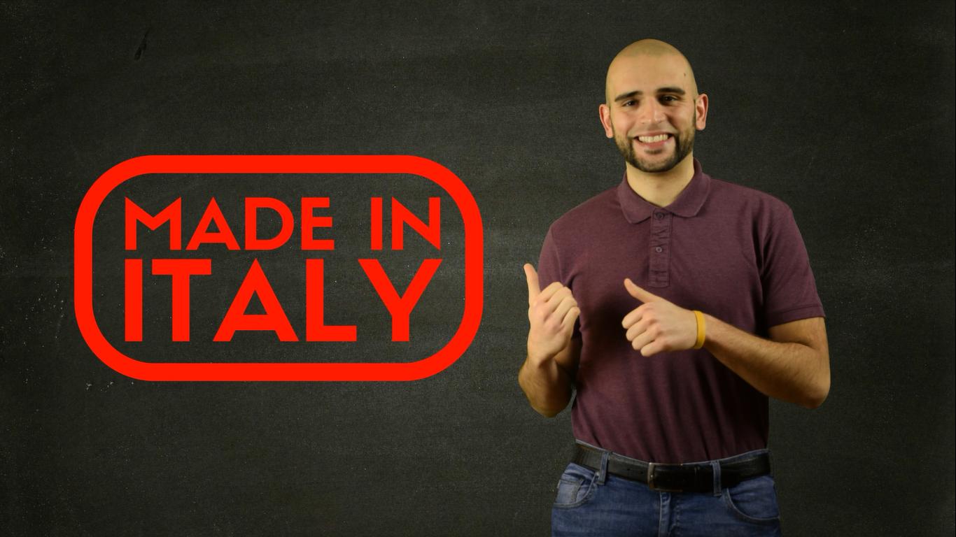 5 motivi per scegliere Made in Italy