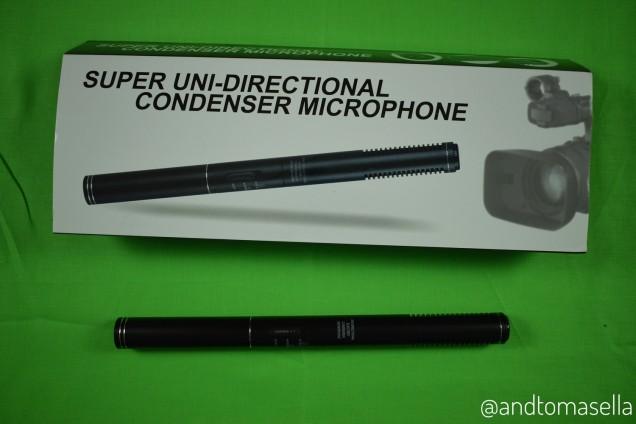 super uni-directional condenser microphone