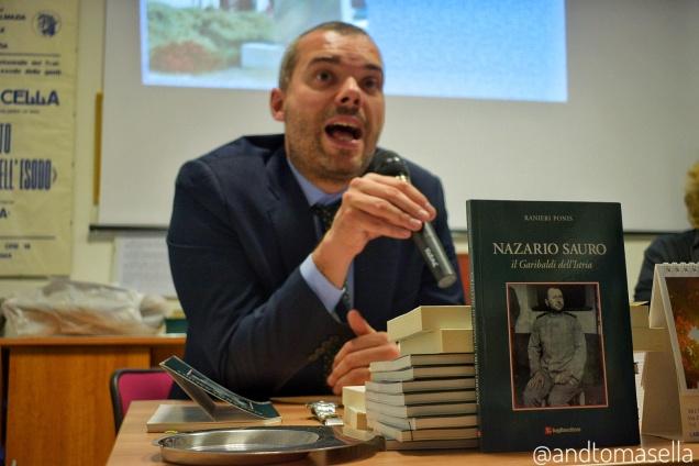 nazario sauro garibaldi istria presentazione libro ranieri ponis