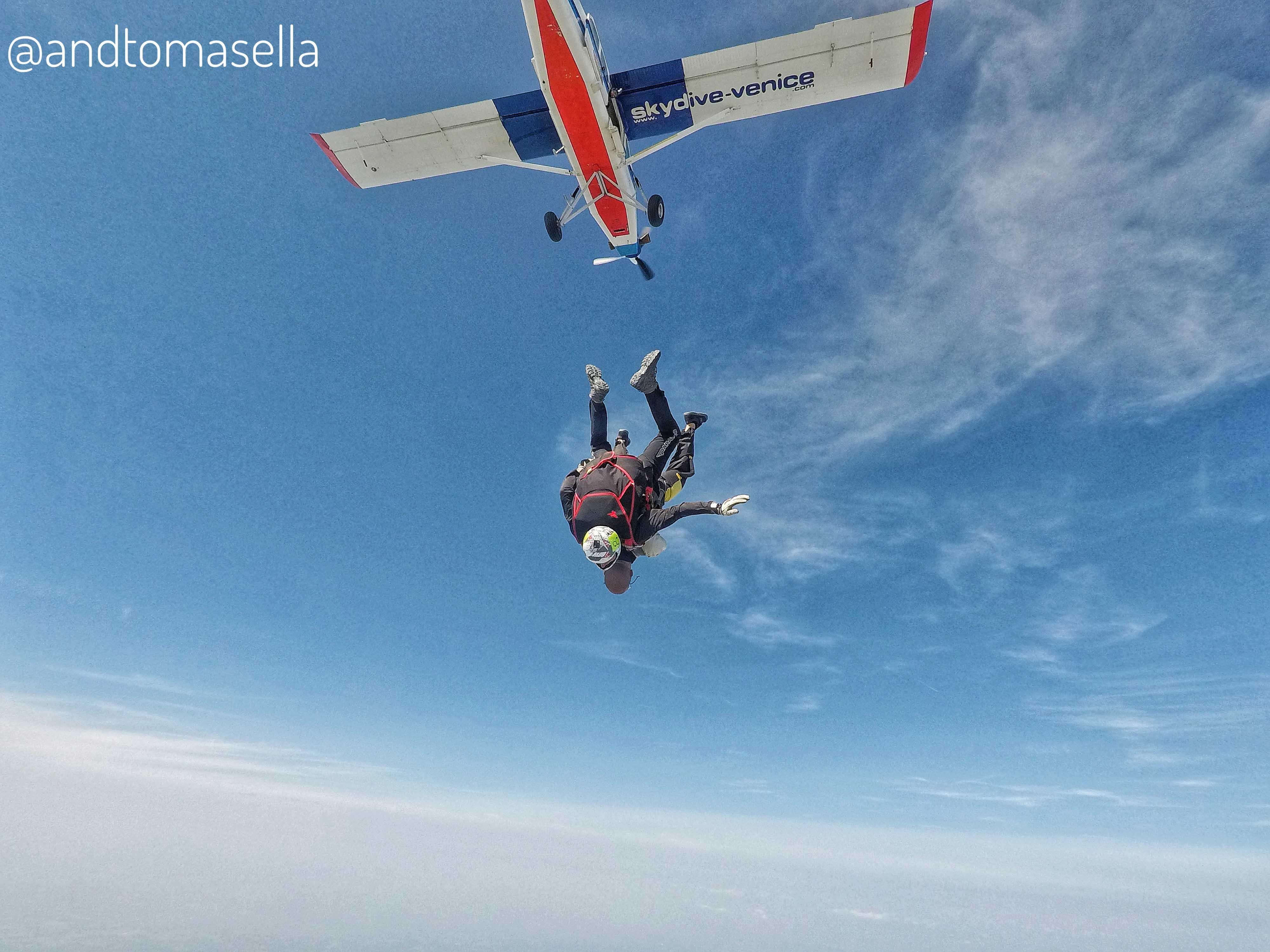 caduta libera skydive venice paracadutismo sportivo veneto