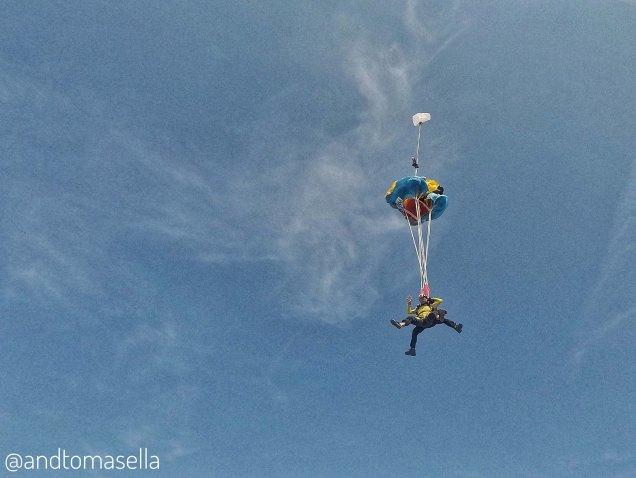 apertura paracadute paracadutismo skydive venice