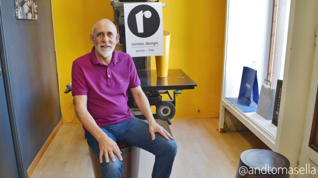 intervista artigiano ignazio romeo romeo design serimania