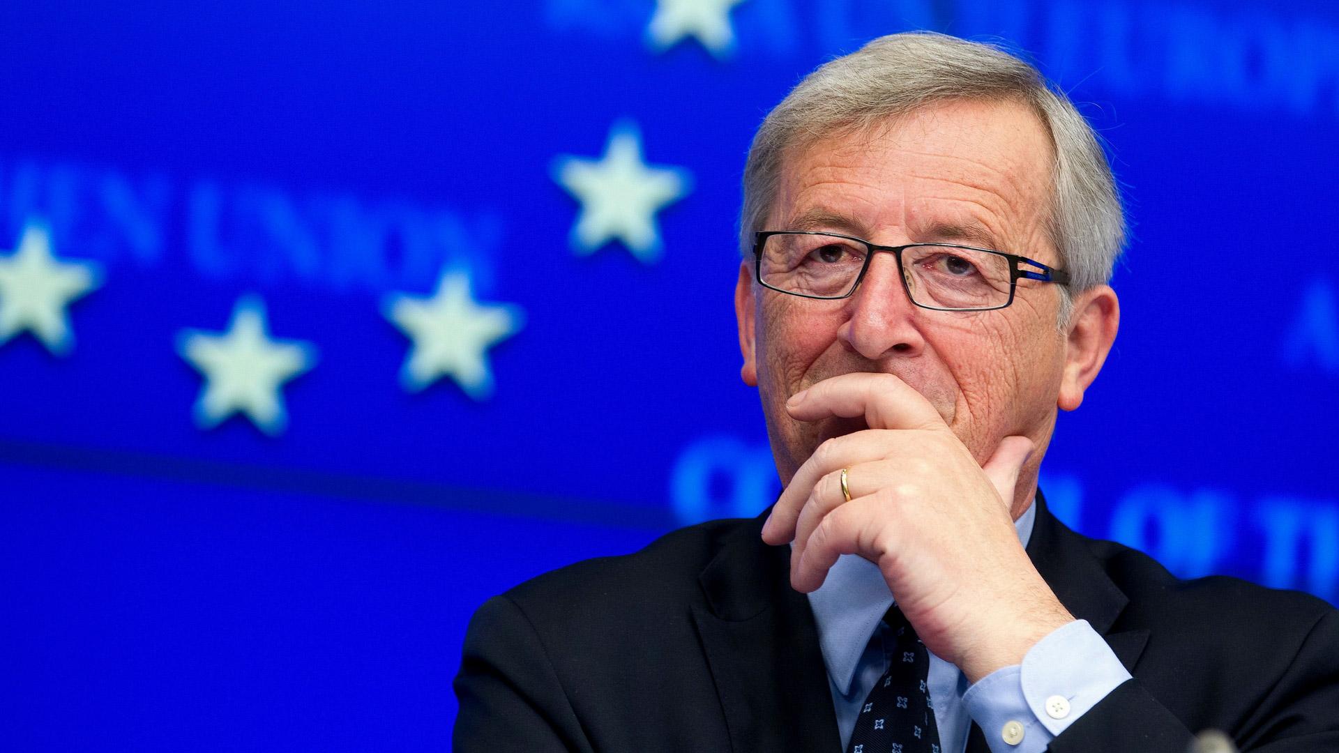 Jean-Claude Juncker Presidente della Commissione europea
