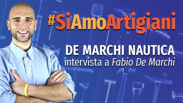 #SiAmoArtigiani intervista a Fabio De Marchi (F.lli De Marchi Nautica)