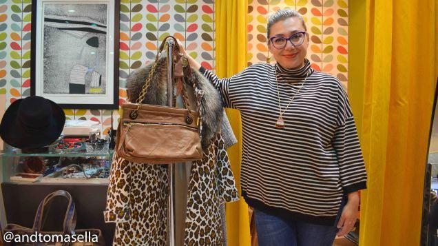 commerciante goriziana daniela zanette negozio abiti di marca usati