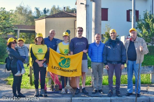 volontari legambiente gorizia pronti per puliamo il mondo 2017
