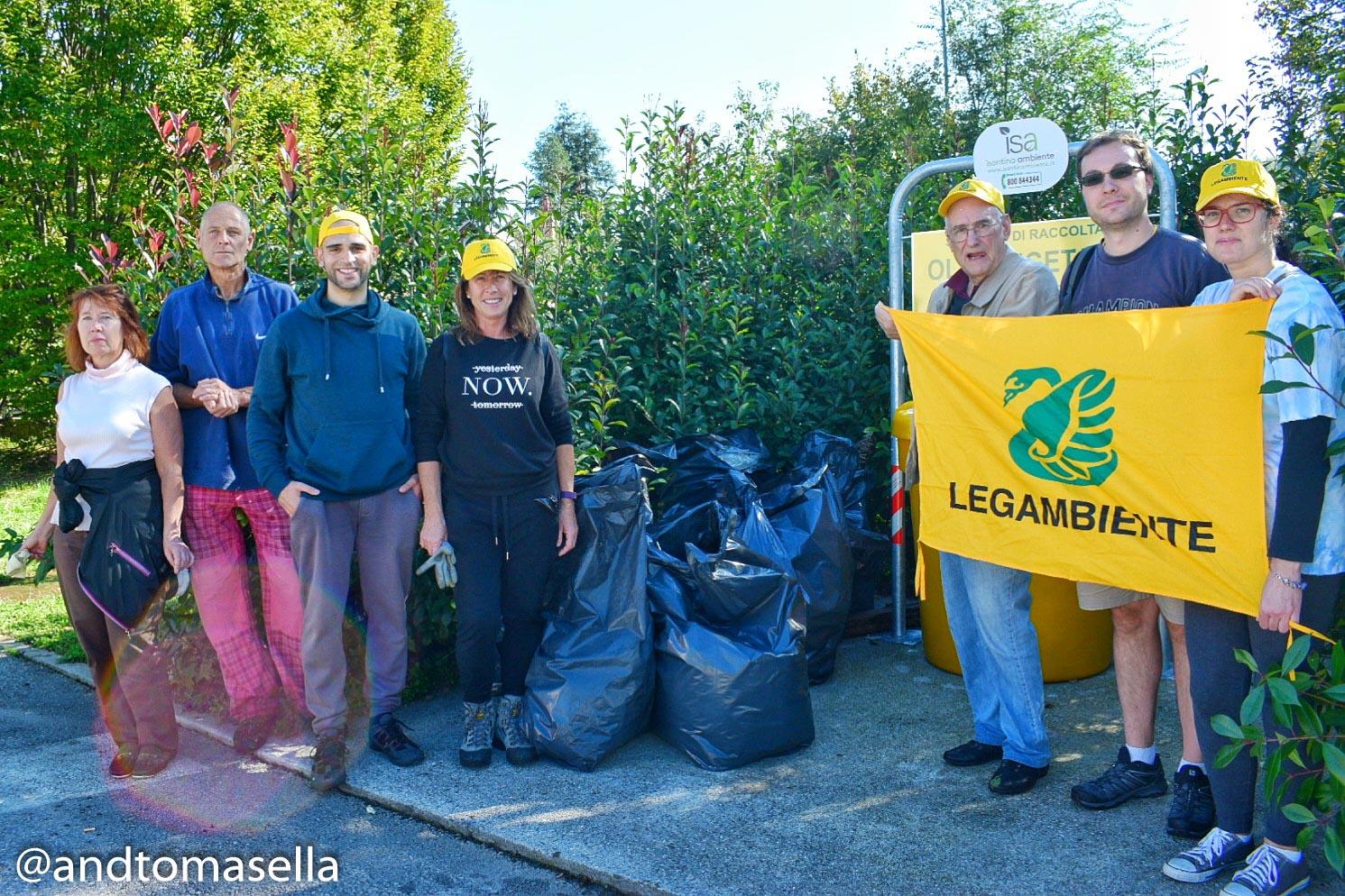 legambiente gorizia foto di gruppo puliamo il mondo 2017
