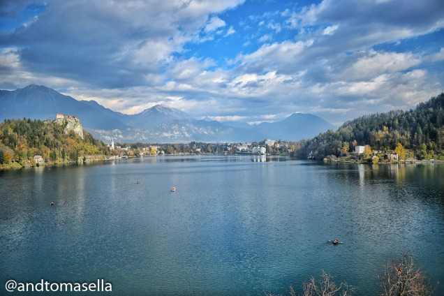 panorama sull'isola di bled