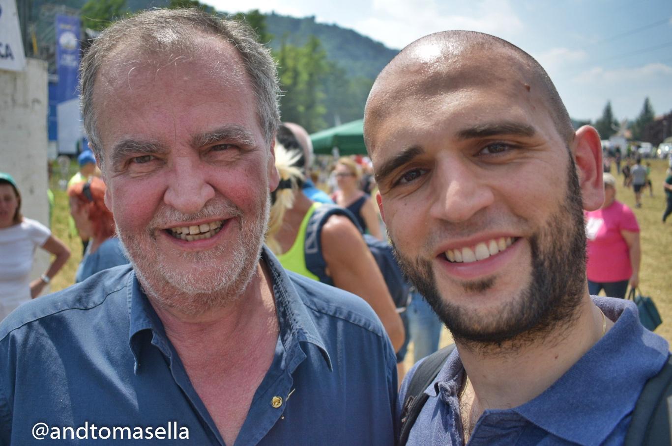 Roberto Calderoli e Andrea Tomasella