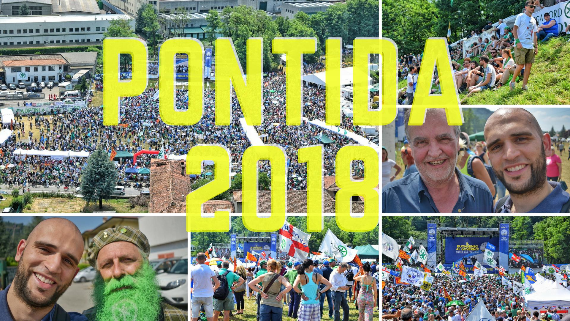 Pontida 2018: il raduno della Lega fra tradizioni e futuro – Andrea  Tomasella